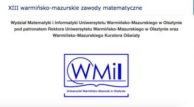 Maciej Torhan zwycięzcą zawodów matematycznych