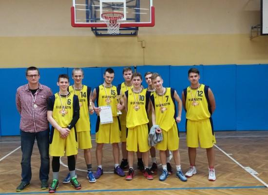 Finał Mistrzostw Województwa w koszykówce chłopców w Olsztynie !!!!